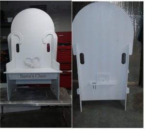 Chair - White F&R